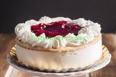 tort, tort z owocami